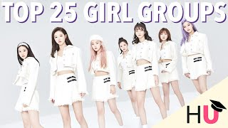 Top 25 Girl K-Pop Artists | My Picks #3