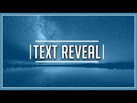 How To: Create Text Reveal In Vegas Pro 15