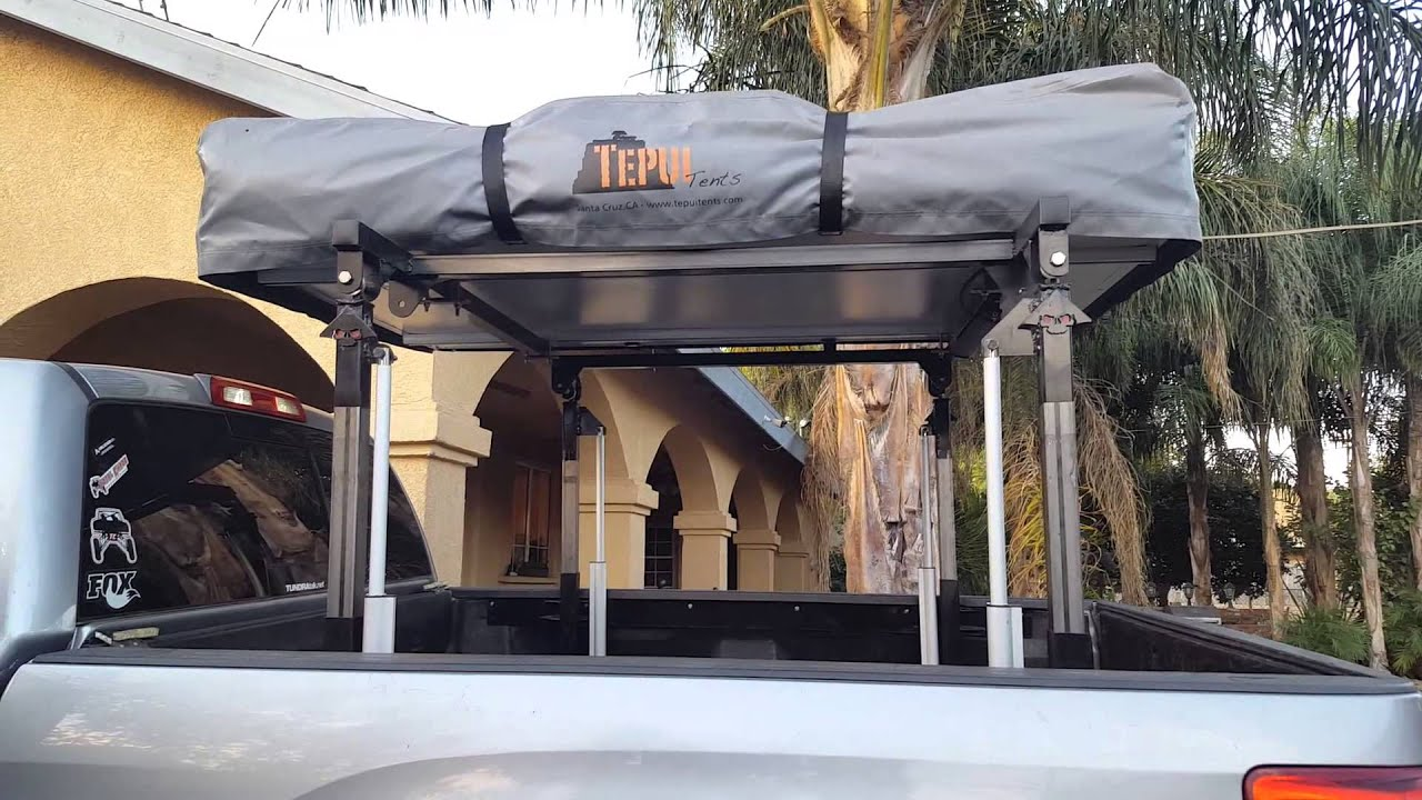 Tepui Tent On Actuator Lift Platform Youtube