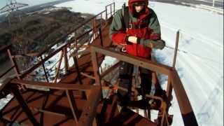 Russian Base Jump Fail from Tosh.0 - This guys is NOT a Big Time Operator, LOL