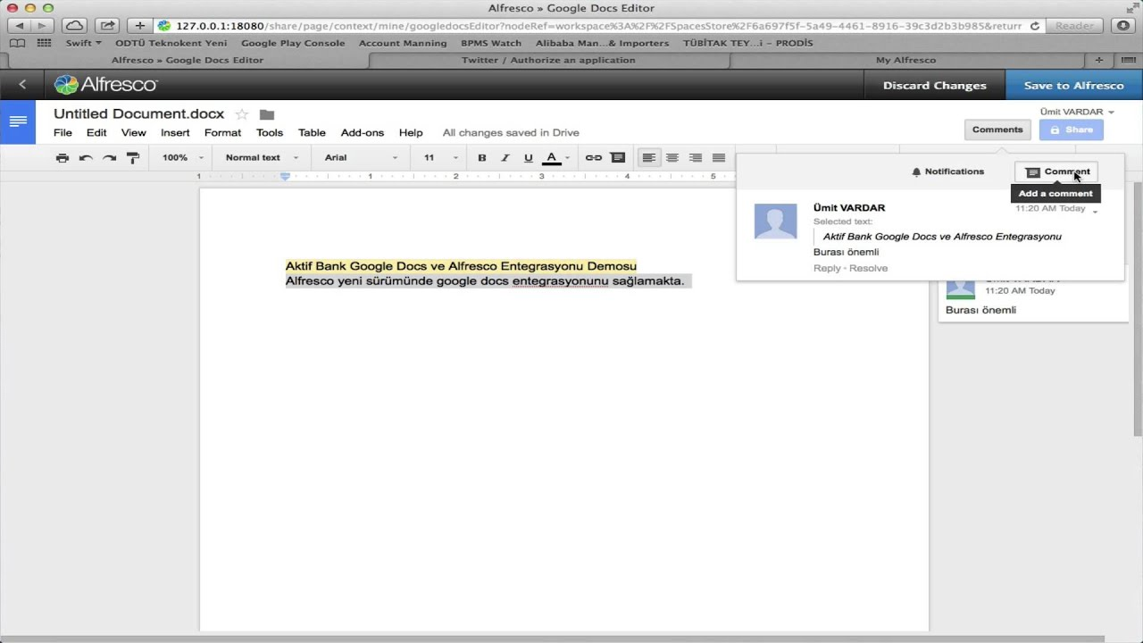 Alfresco google docs ve annotation youtube alfresco google docs ve annotation ccuart Image collections