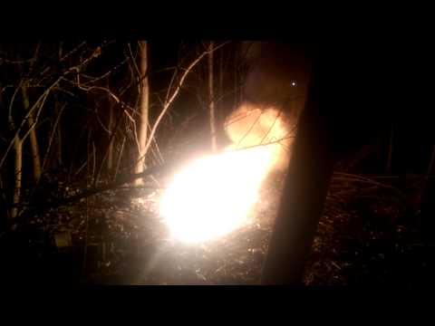Slow Motion Thermite Ignition