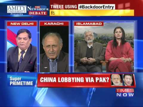 The Newshour Debate: China Lobbying via Pakistan? - Part 1 (25th Nov 2014)