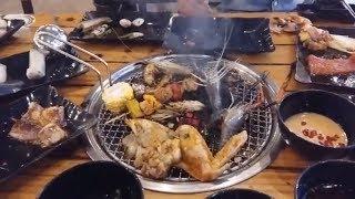 Buffet hải sản, tôm càng xanh TƯƠI SỐNG, cá ngừ chỉ 139k - Buffet cô Ba Còi