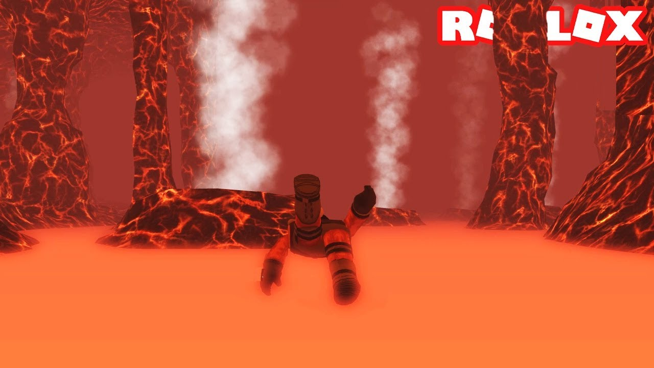 Swimming Inside A Volcano Scuba Diving At Quill Lake In Roblox