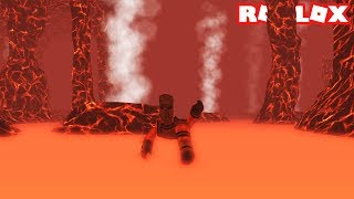 SWIMMING INSIDE A VOLCANO! SCUBA DIVING AT QUILL LAKE IN ROBLOX (Episode #4)