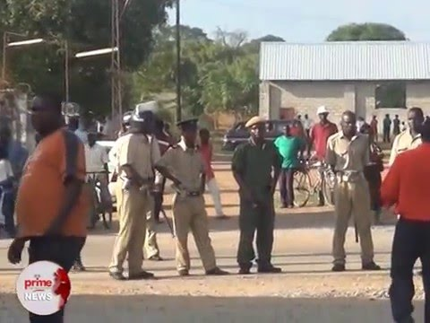 18 11 15 Kitwe  UPND secretariat trashed