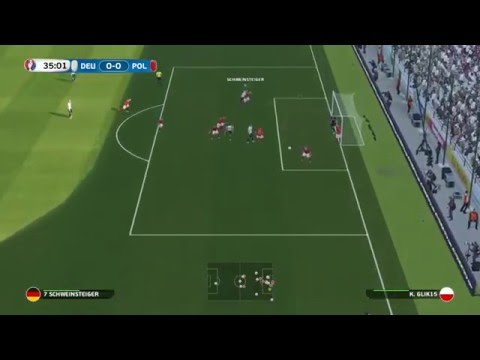 Pes 2016 UEFA EURO 2016 Germany vs Poland 2-1 Group Stage Macthday 2