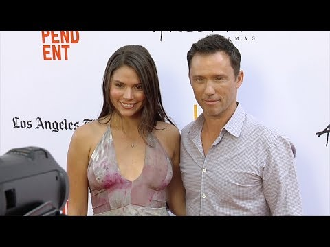 "Jeffrey Donovan and Michelle Woods ""Shot Caller"" LA FILM Festival Premiere Red Carpet"