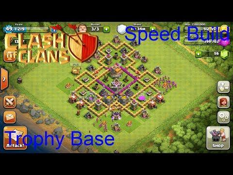 Best town hall level 7 defence speedbuild youtube