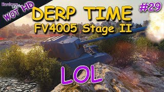 WOT: FV4005 Stage II, funny game on Abbey, 10.4k dmg, WORLD OF TANKS