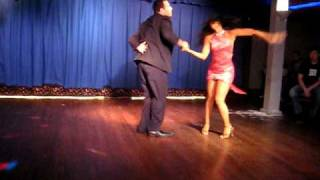 Griselle Ponce & Andy Cruz Salsa Performance at Club Cache NYC