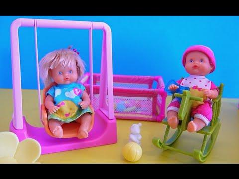 nenuco poup e b b au parc demo video de jouets pour enfants youtube. Black Bedroom Furniture Sets. Home Design Ideas