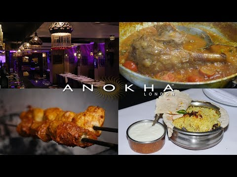 Anokha - Halal Indian Fine Dining Restaurant In City Of London