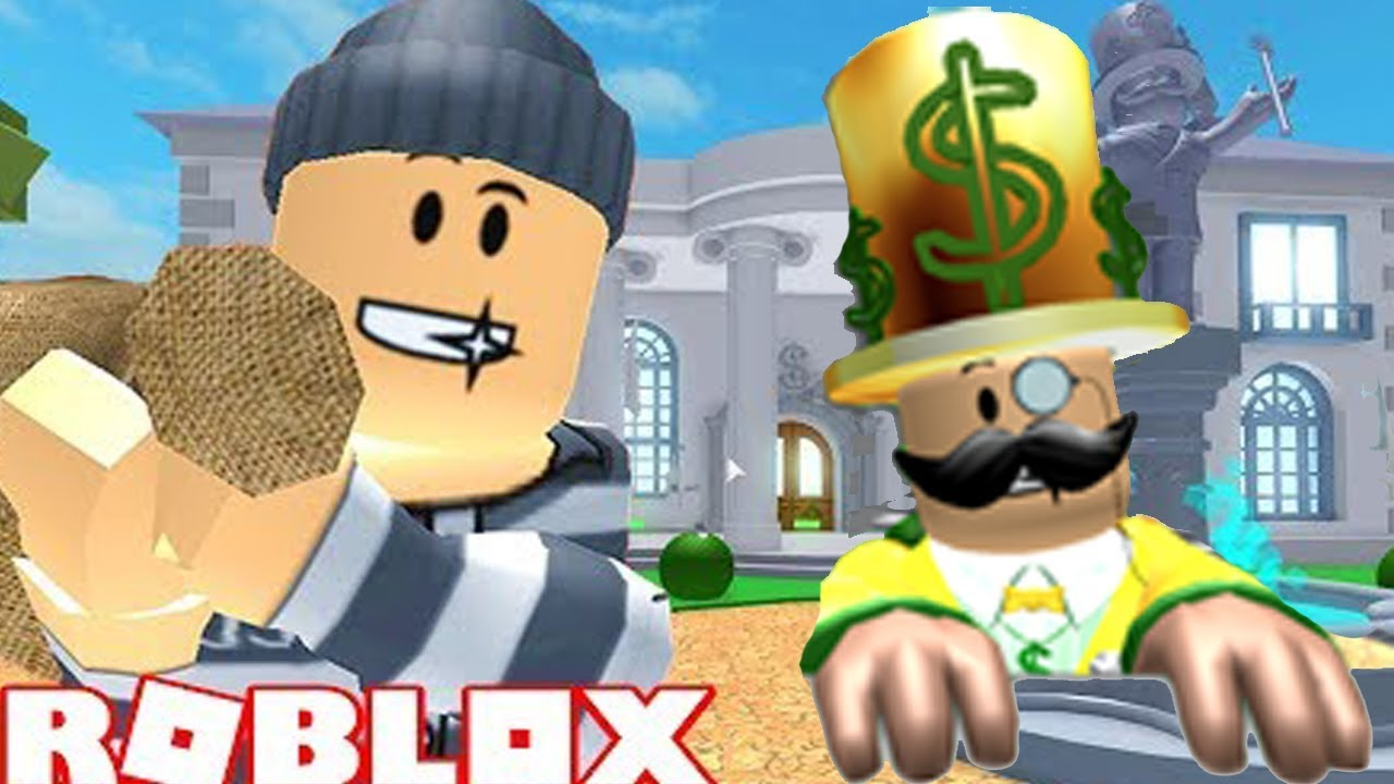 Roblox New Games Rob Mr Rich S Mansion Get All The Cash Youtube