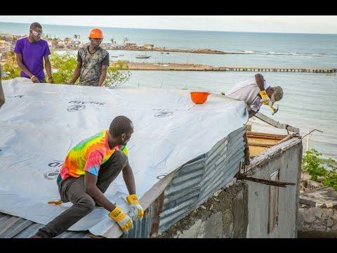 J/P HRO & USAID/OFDA Emergency Shelter Program: Tarp Installation Best Practices