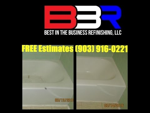 Bathtub Refinishing in Jacksonville Texas (903) 916-0221