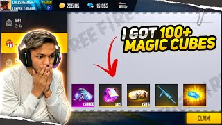 India's First Free Fire Youtuber Got 120 Magic Cube 😱😱😱 OMG New Record  [ No One Break ]
