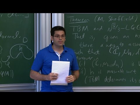Jason Miller - 1/4 Equivalence of Liouville quantum gravity and the Brownian map