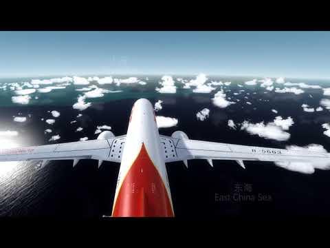 [Prepar3d Flight Sim] Boeing 737 Tokyo Narita to Guangzhou Baiyun