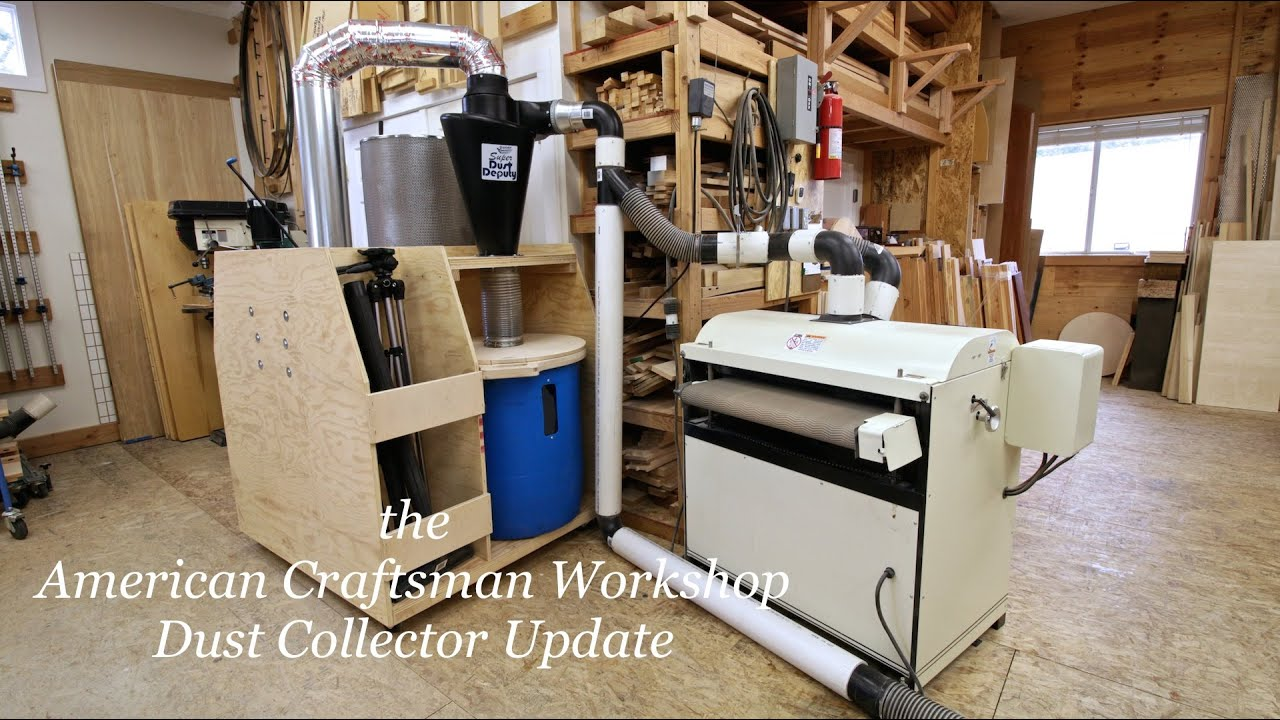 Dust Collection Update Sep 2014 Youtube