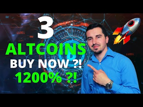 Top 3 Altcoins Ready To EXPLODE in August 2021🚀| BEST Crypto NOW 1200% ?!ALTCOIN RUN(DONT MISS OUT)😱