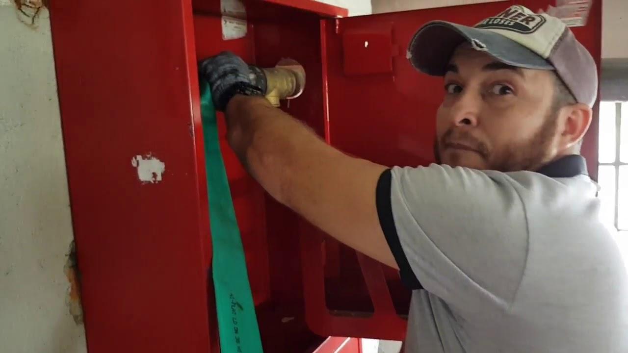 Проверка противопожарного водоснабжения