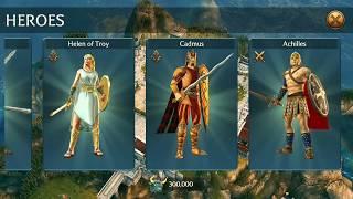 OLYMPUS RISING Unique item ~ Curse of Ares