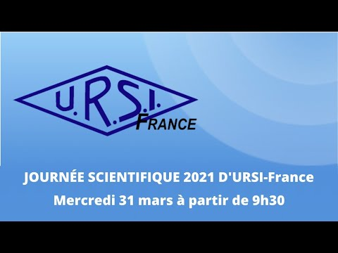 Journée scientifique 2021 dURSI-France