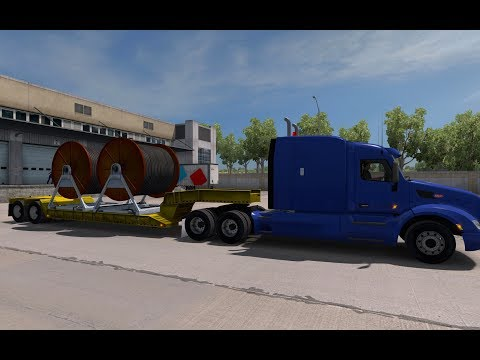 American Truck Simulator Ep 050-1 HD Cables from Redding (CA) to Grand Canyon (AZ)