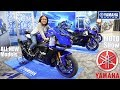 2019 Yamaha YZF-R1M Walk Around, Yamaha MT-10, Yamaha Niken GT and More. Learning to Ride a Bike