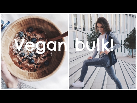 WHAT I EAT ON A REST DAY (NO EXERCISE) AMAZING BANANA ICE CREAM RECIPE // VEGAN BULK EP.4