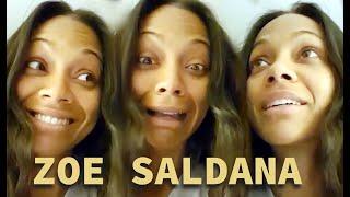 Zoe Saldana Funny Moments - Best Compilation