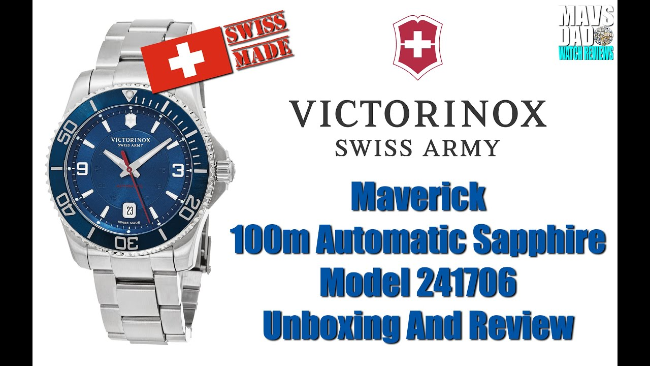 relojes exclusivos watches en maverick victorinox