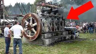 Они Решили Запустить Этот Древний Двигатель, То Что Произошло Поражает