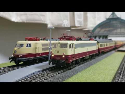 TEE Rheingold-Flügelzug mit BR 112 (Märklin 26983)