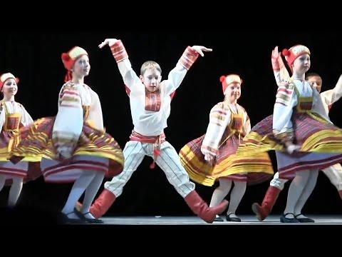 "00069 Russian Dance ""Small Gander in Smolensk"" Смоленский гусачок Танец Дети Роза Ветров"