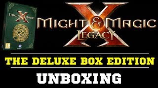 Might & Magic X: Legacy - The Deluxe Box Edition (Unboxing)