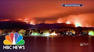 Colorado Fires Threaten Thousands | NBC Nightly News