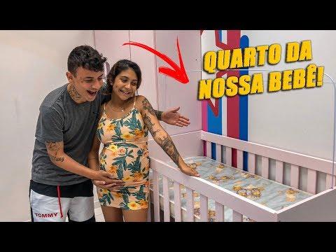 COMPRAMOS TODOS OS MÓVEIS DO QUARTO DA NOSSA FILHA!