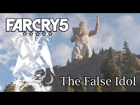 Far Cry 5 - Blowing up the Joseph Seed statue