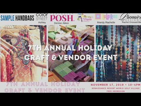 7th Annual Holiday Craft & Vendor Event Application