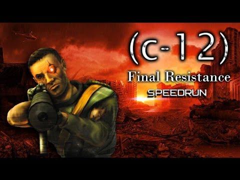C-12 Final Resistance Speedrun 1:22:20 Segmented