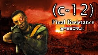 C-12 Final Resistance Speedrun 1:22:20 Segmented