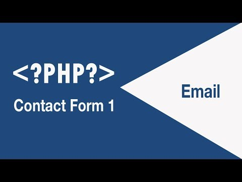 Contact Form To Send Email In PHP