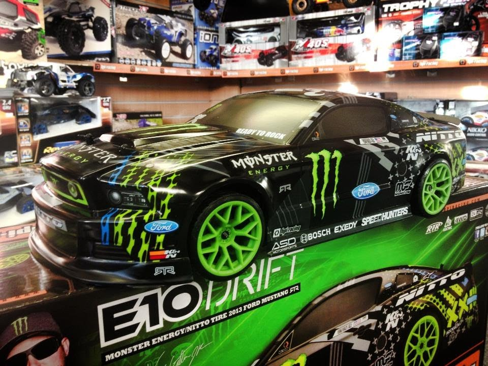 Rc Bashturds Un Boxing Hpi Racing Drift Monster Energy Von