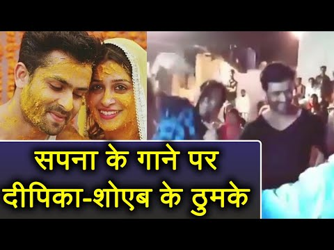Dipika Kakar - Shoaib Ibrahim DANCES on Sapna Chaudhary's Pal Pal Teri Yaad Satave ! | FilmiBeat