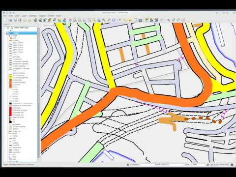 Customizing OSM map with osm2postgresql & QGIS
