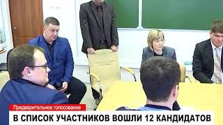 """Предварительное голосование партии """"Единая Россия"""""""