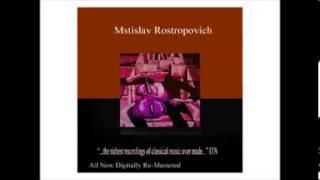 Cello Concerto No. 1 in E-Flat Major, Op. 107, II Moderato